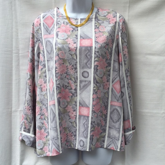 Alfred Dunner Alfred Dunner Floral Print Top Blouse 👚 16